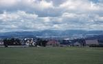 View of Falkirk from Blinkbonny Park