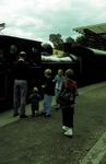 Maude locomotive at Birkhill Station