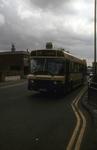 Bus near Bainsford Cross on Main St, Bainsford