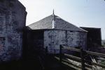 Horse powered threshing mill, Shieldhill Farm