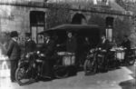 Postal workers from Falkirk Post Office