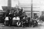 Workers,  John Denholm & Co timber yard, Bo'ness