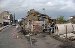 Construction of Garrison Pl Roundabout, Grahams Rd