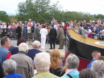 Olympic Torch Relay at the Falkirk Wheel