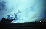 Chaff burning, Bo'ness Road, Kinneil