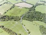 Aerial view of A706 near Torphichen Bridge / Avon Gorge