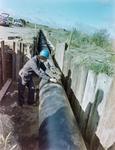 Progress shots - pipeline, Grangemouth