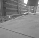 Ramp for disabled in Shieldhill.  Pavements act
