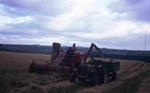 Combine Harvester and trailer