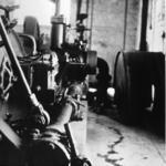 Ruston Hornsby gas engine, Antermony Loch