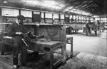 Bus Depot interior machine shop, Larbert Rd Garage