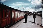 Steam train, Stirling Railway Station