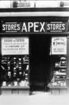 Apex stores shop frontage, Kirk Wynd, Falkirk