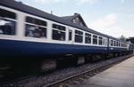 Train leaving Falkirk High Station