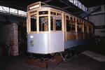Tram during restoration at Museum Workshop