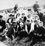 Pupils and teachers, Camelon School