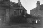 Children outside houses at Windyblow, Bonnybridge