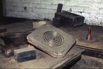 Pattern for cooker hotplate mould, Caledonia Works, Bonnybridge