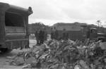 Refuse tipped in yard at Brockville