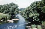 River Avon : view from Jinkabout Bridge towards North foot