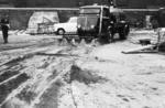 Snowplough demonstration