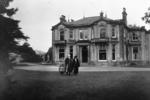 Robert Dollar in front of Arnotdale House