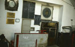 Interior of Falkirk Auction Market just prior to demolition