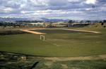 Football field beside Redbrae Tip