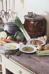 Food in Callendar House Kitchen