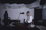 Callendar House - printer's workshop in Forbes's Falkirk exhibition