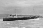 """Ship """"M V Durward"""" at sea"""