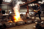 Moulding shop, New Grange Foundry, Bo'ness