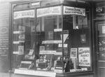 Window display, Sime's shop, Cow Wynd,