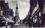 Falkirk High St and Steeple from west