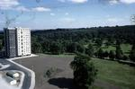 Estate Avenue and Paterson Tower, Seaton Place, Callendar Estate, Falkirk