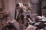Brick making machine at Dyson Refractories Ltd, Bonnybridge
