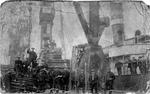 Workers at Bo'ness Docks