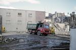 Demolition work, High St, Falkirk