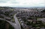 View from above of Gartcows Rd, Falkirk