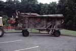 Crichton Threshing Mill being towed along Camelon Road