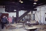 Jib crane in Comelybank Foundry moulding shop