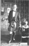 Edwardian man in kilt