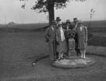 Sundial, orchard, Grangemouth