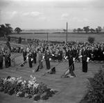 """""""Dedication of Stone of Remembrance, Grandsable Cemetery"""""""