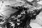 Aerial view of Carrongrove Paper Mill
