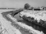 """""""Snow - bend of Grange Burn at Nursery"""""""