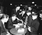 Book signing by George Young, footballer