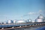 Tank farm, BP refinery, Grangemouth