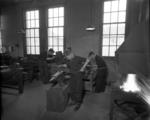 Boys in technical classroom in Graeme High School