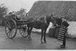 Alex Brodie horse-drawn delivery cart
